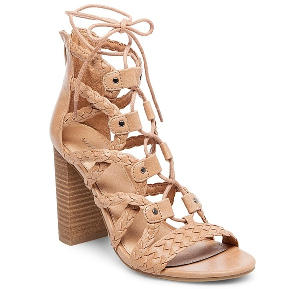 4ac44bd7857 Merona Kolbi Braided Gladiator Heeled Sandals